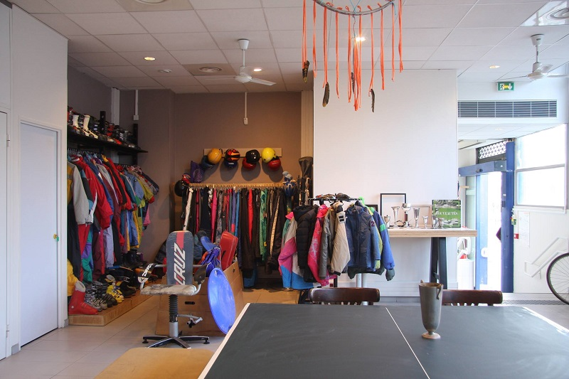 recyclerie sportive Paris Commerces GIE
