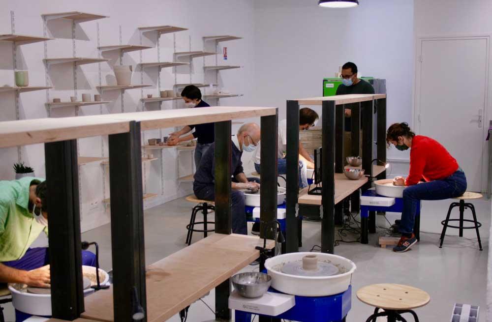 atelier céramique les céramistes paris 8e arrondissement