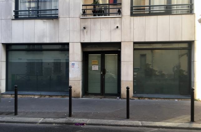 local à louer rue du borrego paris 20eme